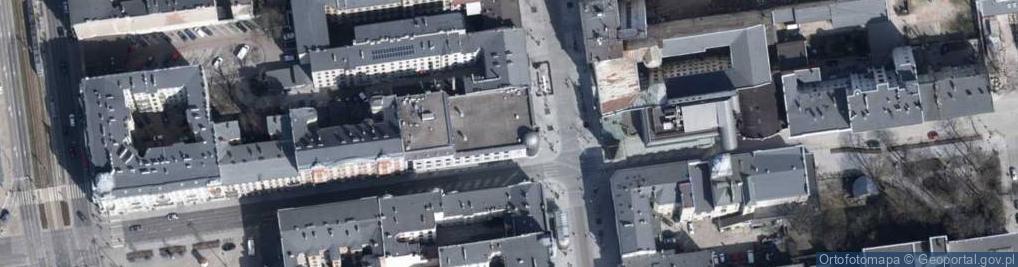 Zdjęcie satelitarne Piotrkowska 95