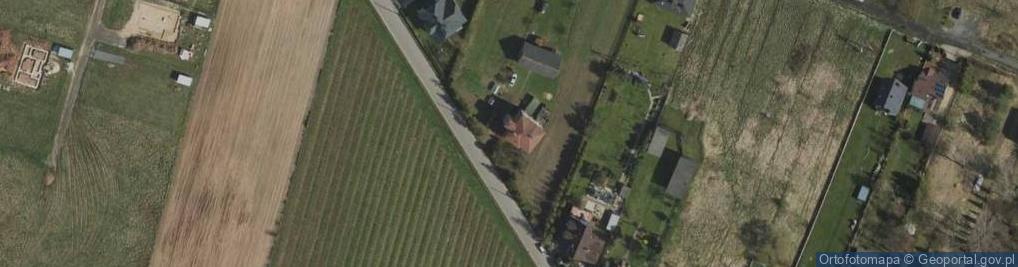 Zdjęcie satelitarne Piękna 43