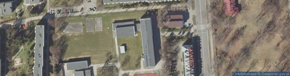Zdjęcie satelitarne Piłsudskiego Józefa, marsz. 65