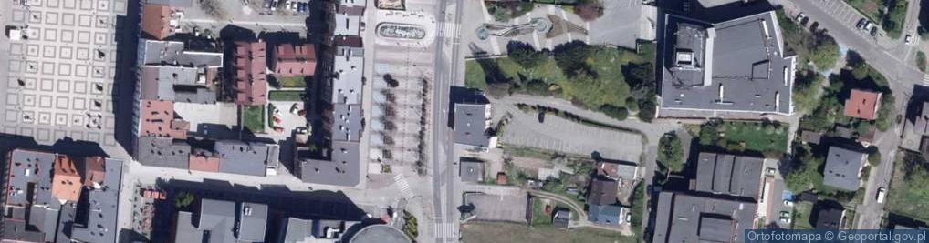 Zdjęcie satelitarne Plac Wolności 10