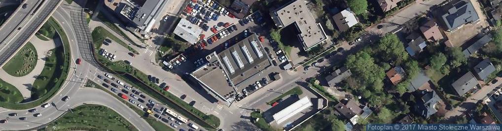 Zdjęcie satelitarne Płowiecka 17