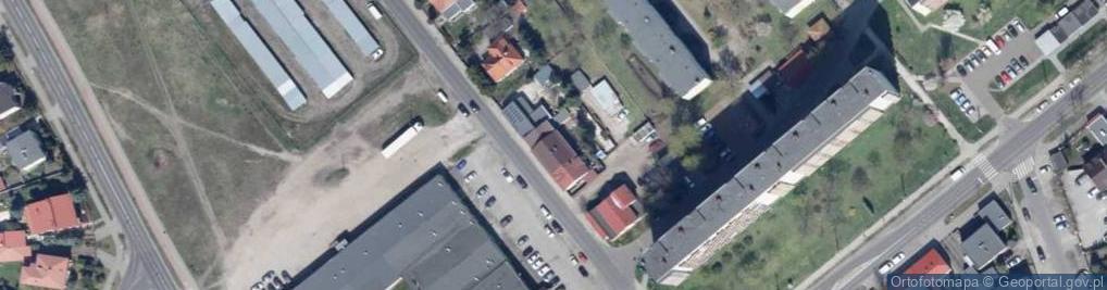 Zdjęcie satelitarne Planty ul.