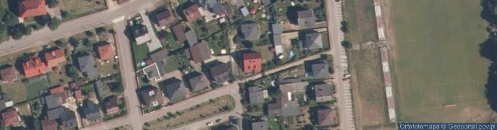 Zdjęcie satelitarne Plac Siniarskiego, dr. pl.