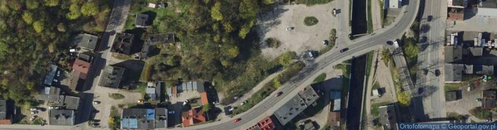 Zdjęcie satelitarne Podmiejska 3