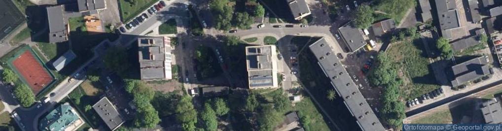 Zdjęcie satelitarne Podgórna 26