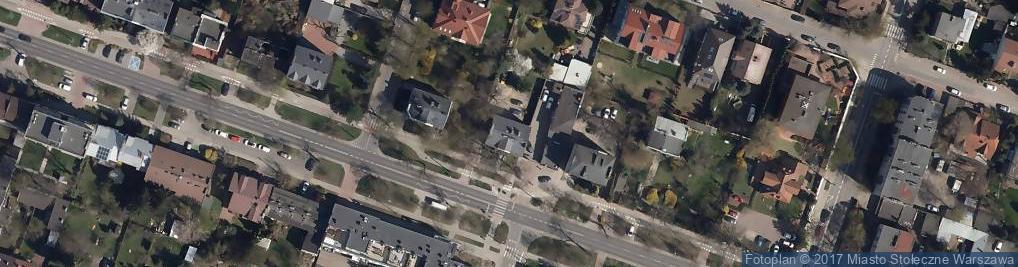 Zdjęcie satelitarne Popularna ul.