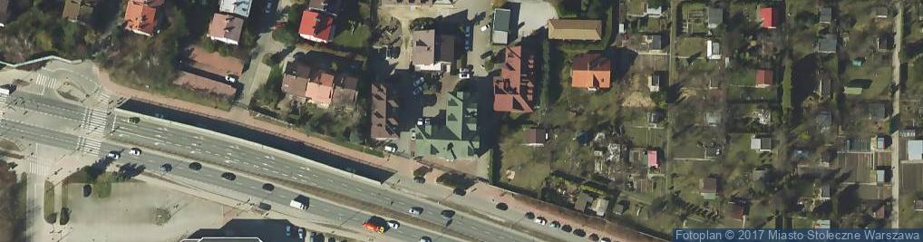 Zdjęcie satelitarne Poleczki ul.