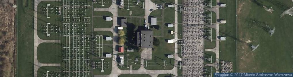 Zdjęcie satelitarne Połczyńska ul.