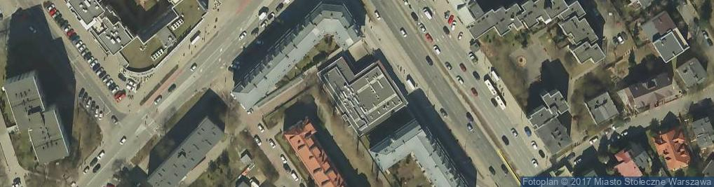 Zdjęcie satelitarne Powsińska ul.