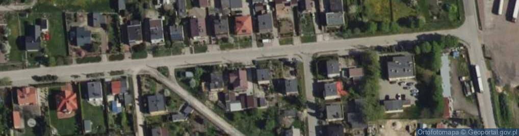 Zdjęcie satelitarne Prusa Bolesława 15