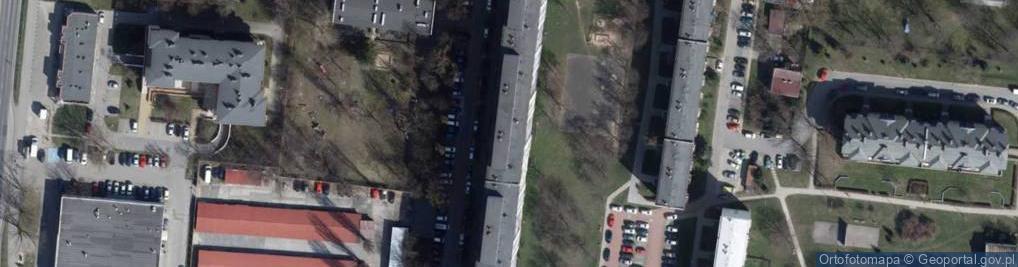 Zdjęcie satelitarne Przełajowa 4