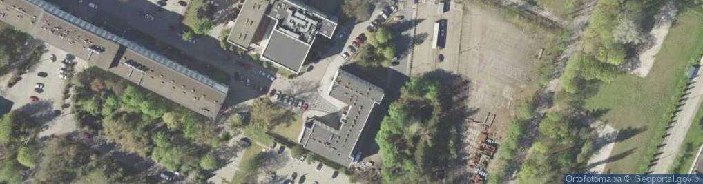 Zdjęcie satelitarne Projektowa 5