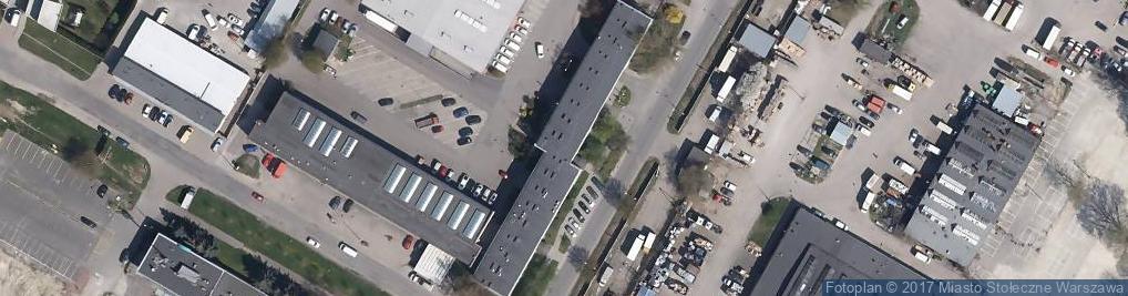 Zdjęcie satelitarne Przedpole ul.