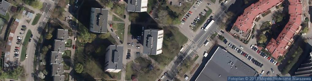 Zdjęcie satelitarne Przy Agorze 18A