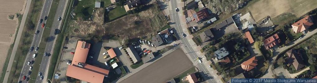 Zdjęcie satelitarne Przyczółkowa 109A