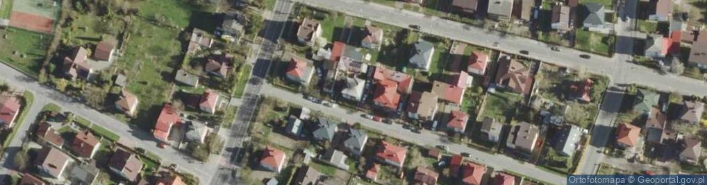Zdjęcie satelitarne Pszczela 1