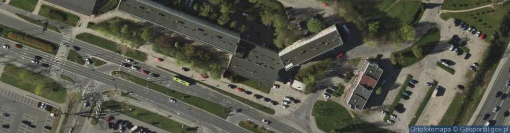 Zdjęcie satelitarne Pstrowskiego Wincentego ul.