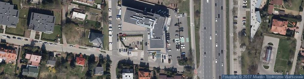 Zdjęcie satelitarne Puławska 366