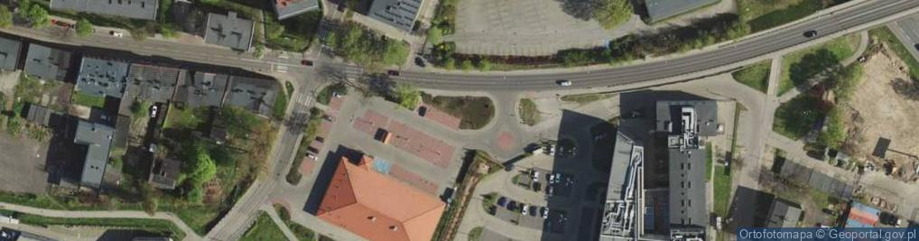 Zdjęcie satelitarne Racławicka 20A