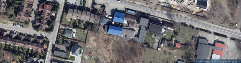 Zdjęcie satelitarne Rąbieńska 42