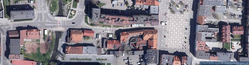 Zdjęcie satelitarne Raciborska ul.