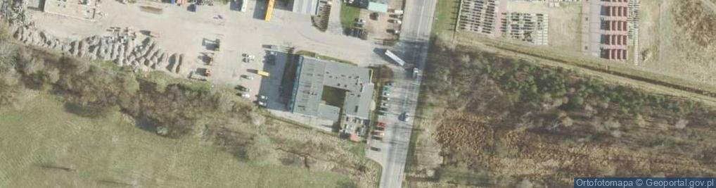 Zdjęcie satelitarne Radomska 53