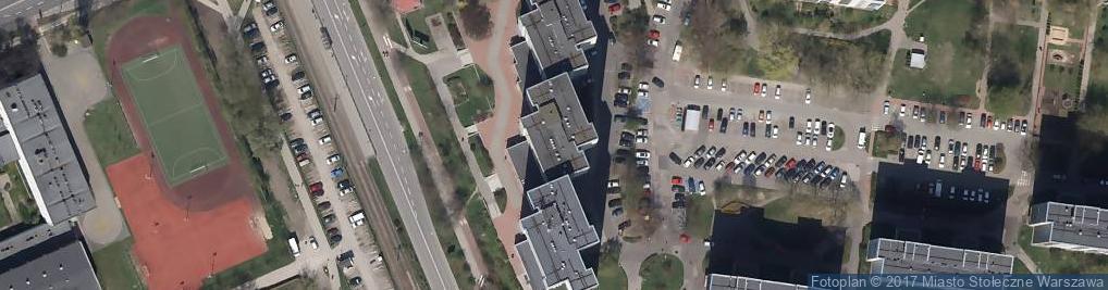 Zdjęcie satelitarne Rembielińska 12