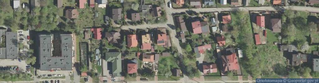 Zdjęcie satelitarne Robotnicza 1