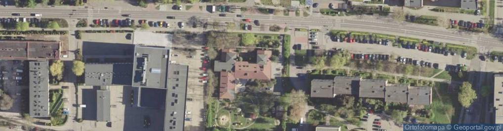 Zdjęcie satelitarne Rolna 41