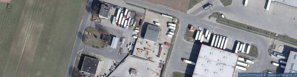 Zdjęcie satelitarne Rokicińska 156