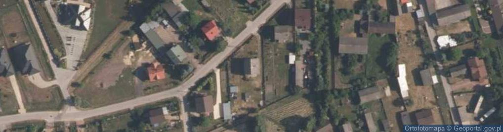 Zdjęcie satelitarne Różana 56