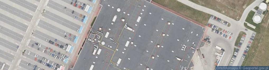 Zdjęcie satelitarne Rybnicka 207