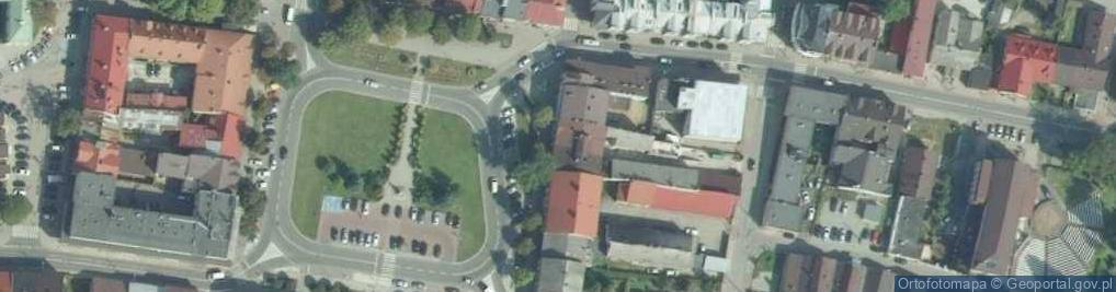 Zdjęcie satelitarne Rynek 15