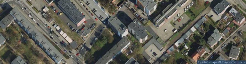 Zdjęcie satelitarne Rynarzewska 9