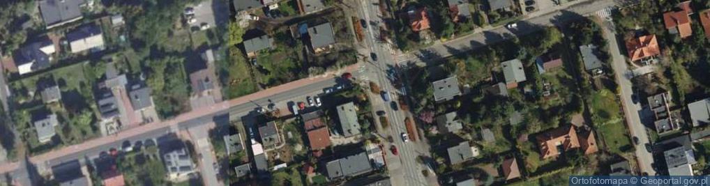 Zdjęcie satelitarne Rynkowa 36