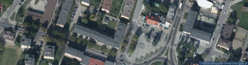 Zdjęcie satelitarne Rynek 7