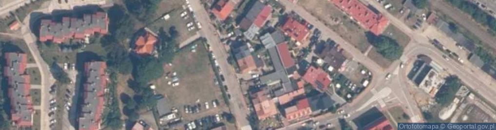 Zdjęcie satelitarne Rybacka 14