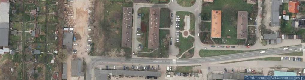 Zdjęcie satelitarne Sawickiej Hanki 34