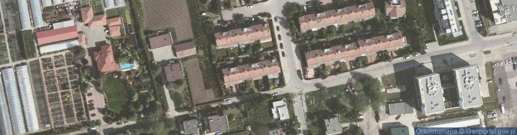 Zdjęcie satelitarne Sabały Jana 13