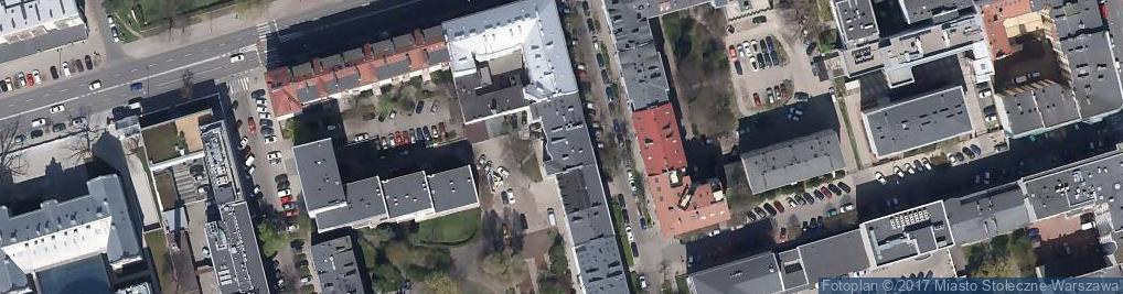 Zdjęcie satelitarne Sandomierska 21