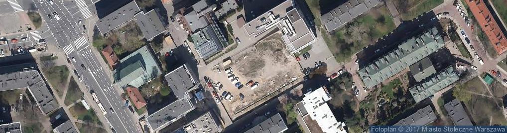 Zdjęcie satelitarne Sapieżyńska 10