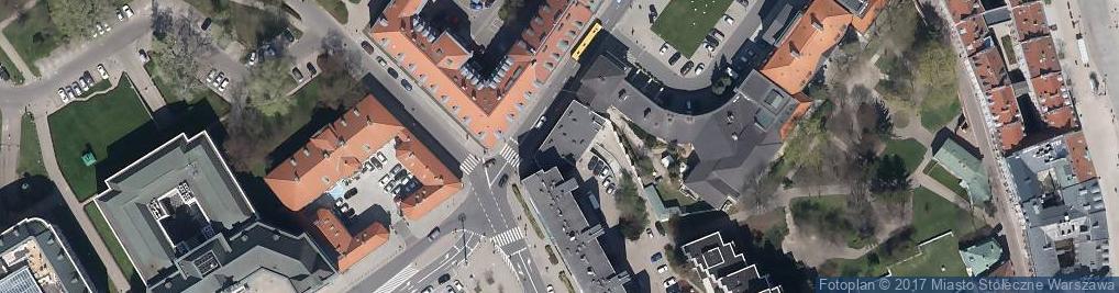 Zdjęcie satelitarne Senatorska 17/19