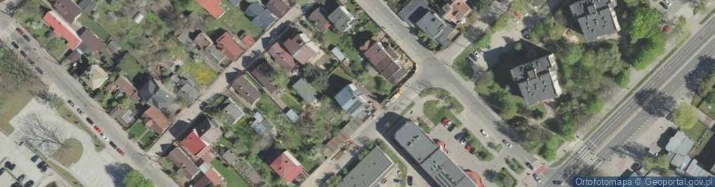 Zdjęcie satelitarne Siedleckiego Wacława 9