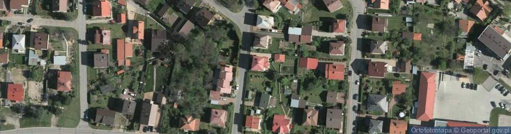 Zdjęcie satelitarne Sienkiewicza Henryka 2