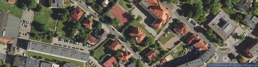 Zdjęcie satelitarne Sienkiewicza Henryka 4