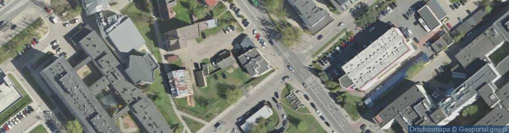 Zdjęcie satelitarne Skłodowskiej-Curie Marii 24A