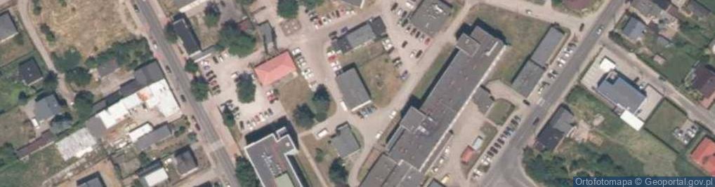 Zdjęcie satelitarne Skłodowskiej-Curie Marii 6/10