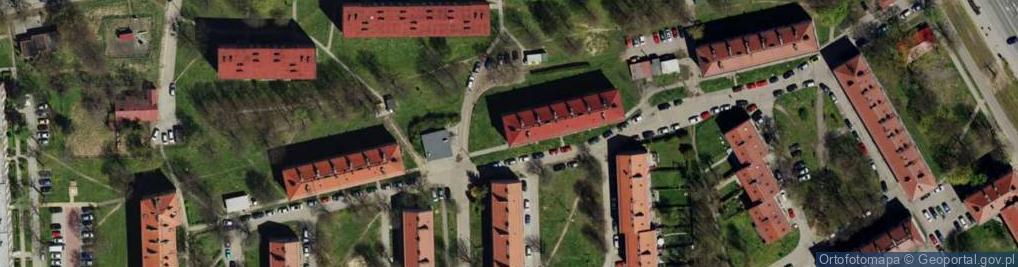 Zdjęcie satelitarne Skwer Osiedlowy skw.