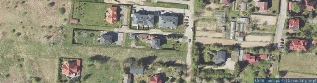 Zdjęcie satelitarne Skowronkowa 14
