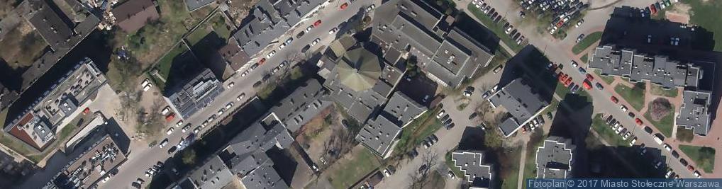 Zdjęcie satelitarne Skaryszewska 12